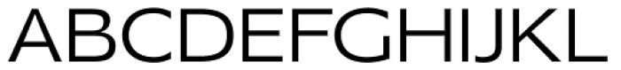 Mensa Exp Book Font UPPERCASE