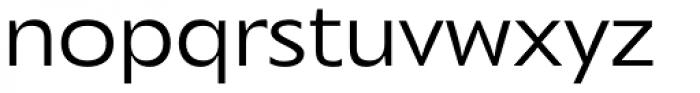 Mensa Exp Book Font LOWERCASE