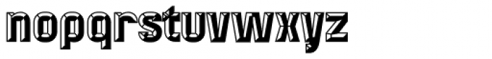 Mensrea Bevelshade Font LOWERCASE
