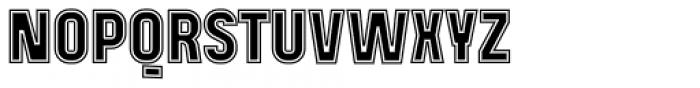 Mensrea College Font UPPERCASE