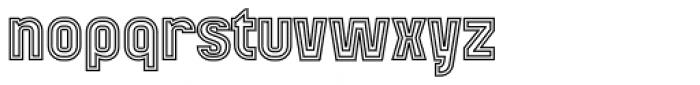 Mensrea Duoline Font LOWERCASE
