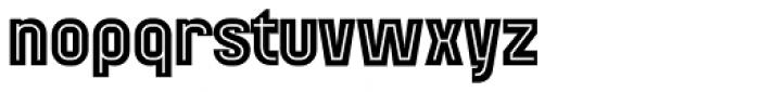 Mensrea Inline Font LOWERCASE