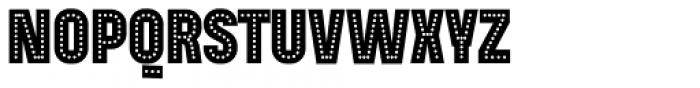 Mensrea Neon Font UPPERCASE