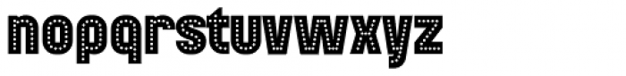 Mensrea Neon Font LOWERCASE
