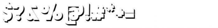 Mensrea Shadow Font OTHER CHARS