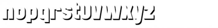 Mensrea Shadow Font LOWERCASE