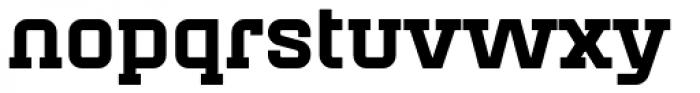 Mensura Slab Black Font LOWERCASE