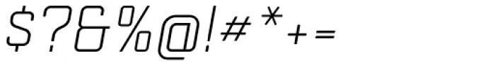 Mensura Slab Light Italic Font OTHER CHARS