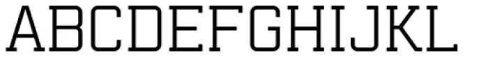 Mensura Slab Font UPPERCASE