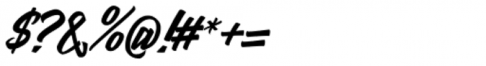 Mentari Font OTHER CHARS