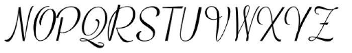 Mentha Medium Font UPPERCASE