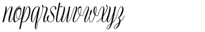 Mentha Medium Font LOWERCASE