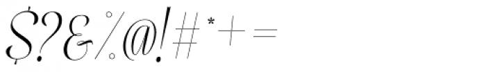 Mentha Regular Font OTHER CHARS