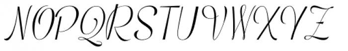 Mentha Regular Font UPPERCASE