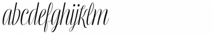 Mentha Regular Font LOWERCASE