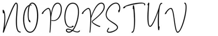 Mention Regular Font UPPERCASE