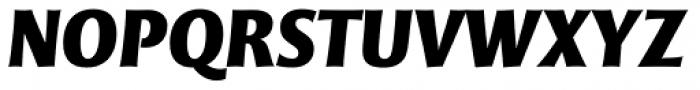 Mentor Sans Black Italic Font UPPERCASE