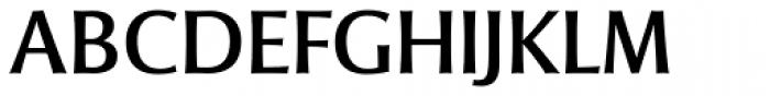 Mentor Sans Regular Font UPPERCASE