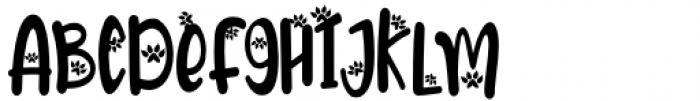 Meoowly Swash2 Font UPPERCASE