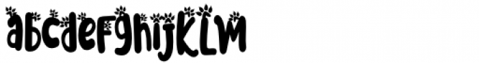 Meoowly Swash2 Font LOWERCASE