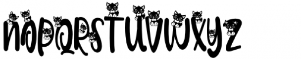 Meoowly Swash3 Font UPPERCASE