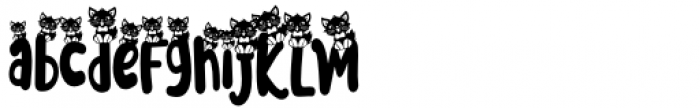 Meoowly Swash3 Font LOWERCASE