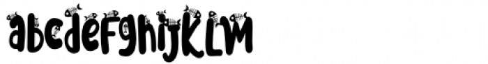 Meoowly Swash4 Font LOWERCASE