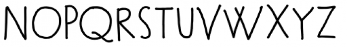 Meow Medium Font UPPERCASE