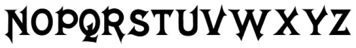 Mephisto Font UPPERCASE