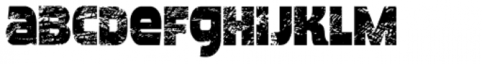 Meposa Stamp Font LOWERCASE