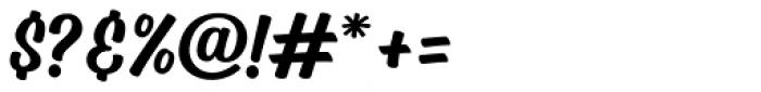 Mercadillo Regular Font OTHER CHARS