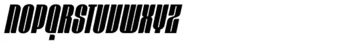 Mercano Empire Italic Font UPPERCASE