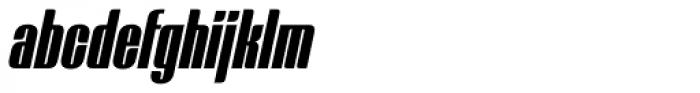 Mercano Empire Italic Font LOWERCASE