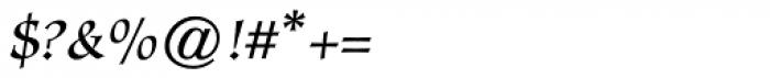 Mercator Regular Font OTHER CHARS