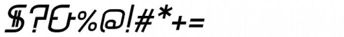 Mercurio Italic Font OTHER CHARS