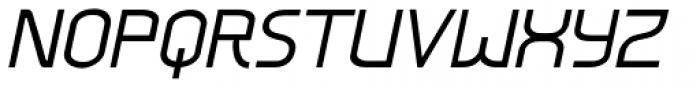 Mercurio Italic Font UPPERCASE