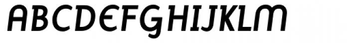 Mercury Alternative Bold Italic Font UPPERCASE