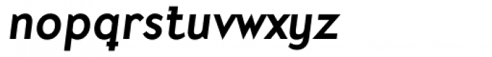 Mercury Alternative Bold Italic Font LOWERCASE