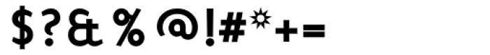 Mercury Alternative Bold Font OTHER CHARS