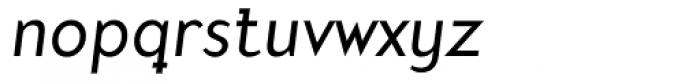 Mercury Alternative Italic Font LOWERCASE