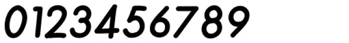 Merendina Bold Slanted Font OTHER CHARS