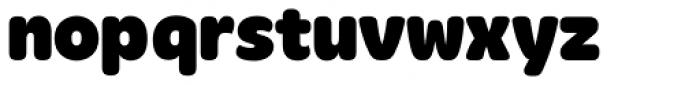 Merge Black Font LOWERCASE