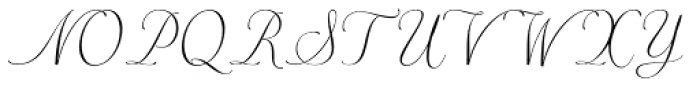 Merick Font UPPERCASE