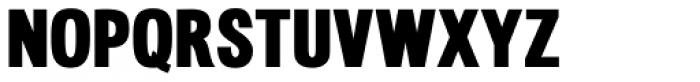 Meriden Heavy Font UPPERCASE