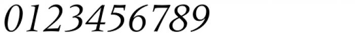 Meridien Italic Font OTHER CHARS