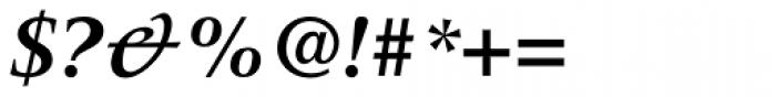 Meridien LT Std Bold Italic Font OTHER CHARS