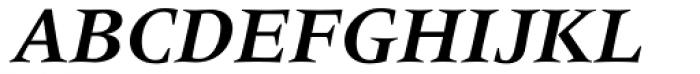 Meridien LT Std Bold Italic Font UPPERCASE