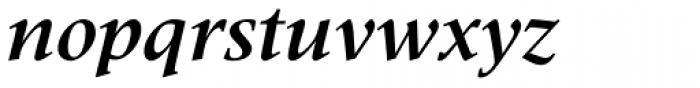 Meridien LT Std Bold Italic Font LOWERCASE