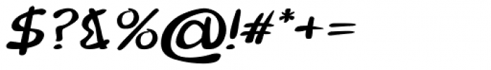 Merilee Bold Italic Font OTHER CHARS