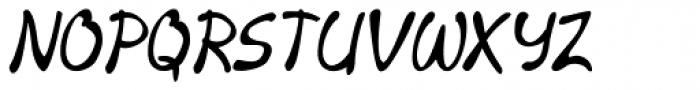 Merilee Condensed Bold Italic Font UPPERCASE